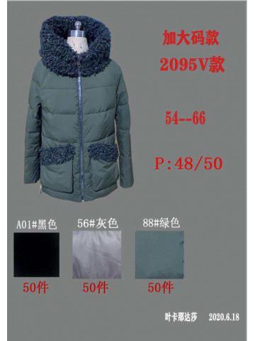 Женская куртка-пуховик 2095V