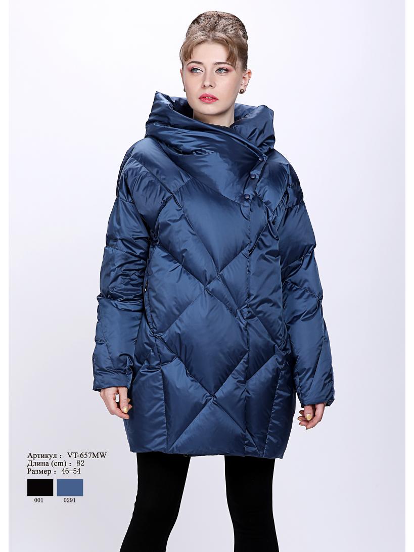 Женская куртка с капюшоном  VT 657 MW