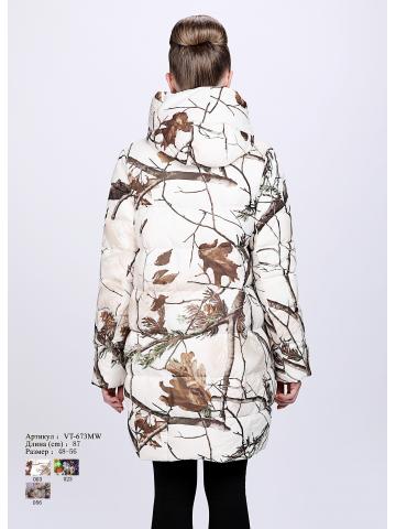 Женская куртка с капюшоном  VT 673 MW