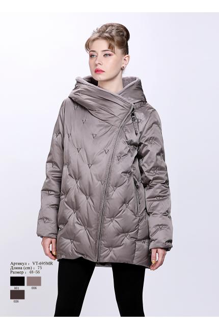 Женская куртка с капюшоном VT 695 MR