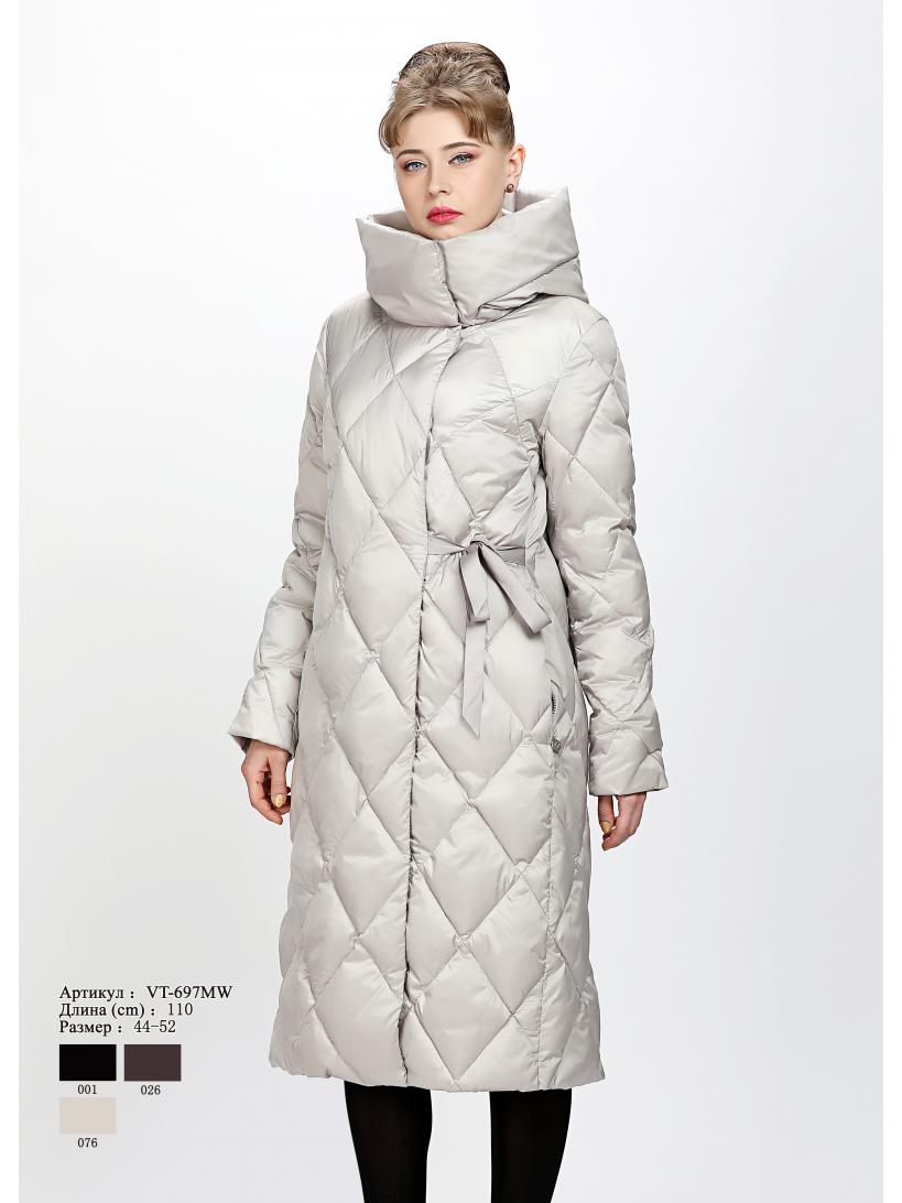 Женское пальто с капюшоном VT 697 MW