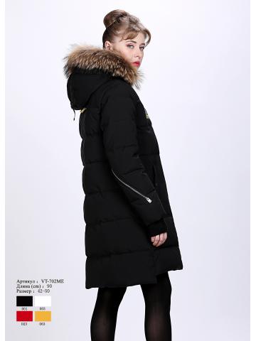 Женское пальто с капюшоном VT 702 ME