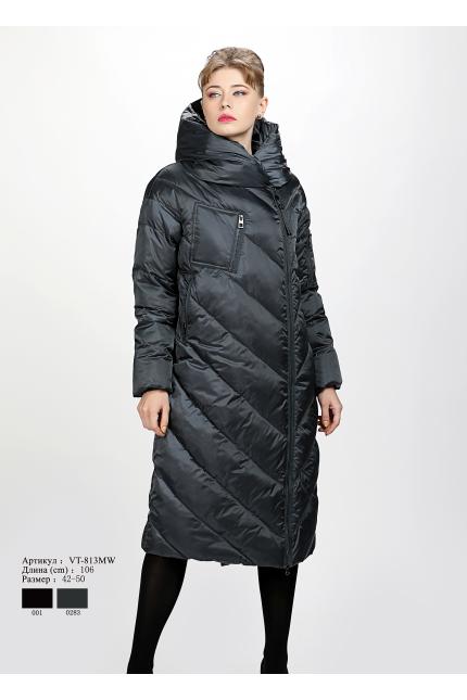 Женское пальто с капюшоном VT 813 MW