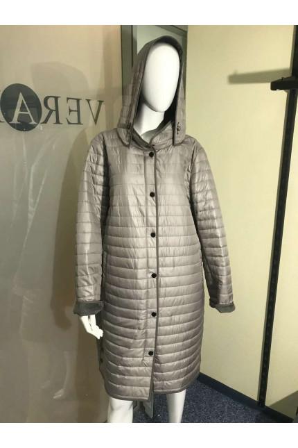 Женская удлиненная куртка B8552g