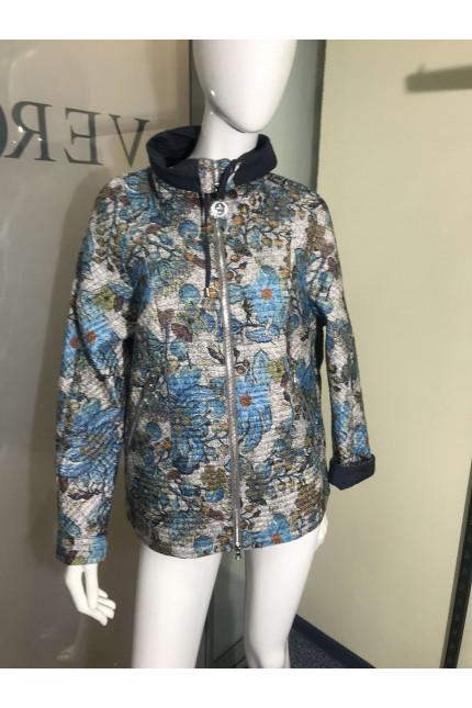 Тонкая женская куртка 11245